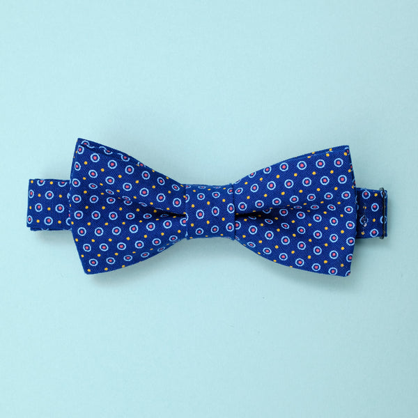Afican Shweshwe Bow Tie Dots and Dots