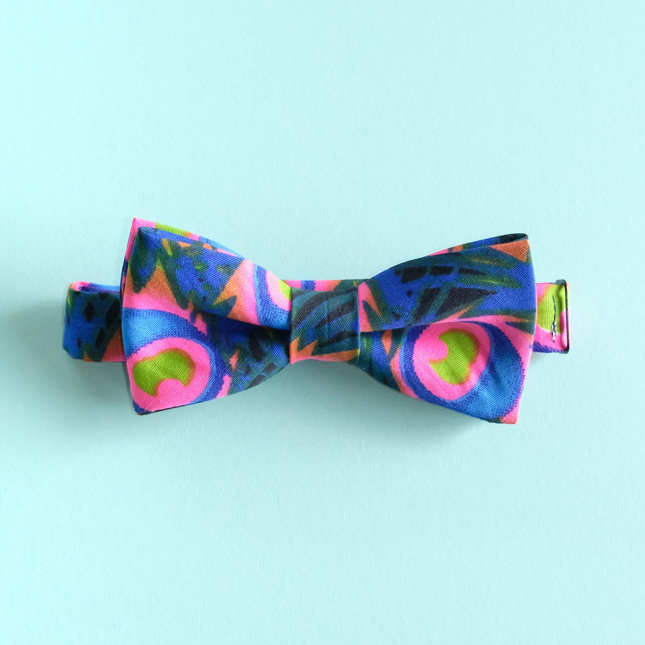 Fire Flower African Bow Tie