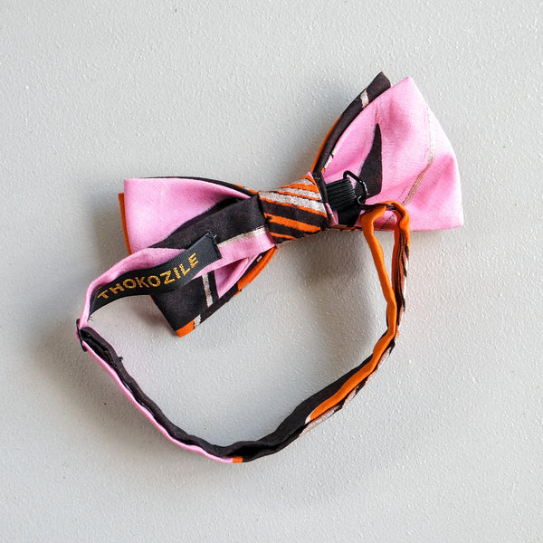 Colour Romance Dutch Wax Print Bow Tie