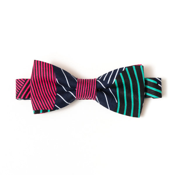 Likoloto African Wax Print Bow Tie