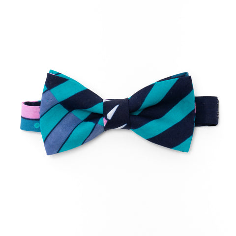 Pencil African Wax Print Bow Tie