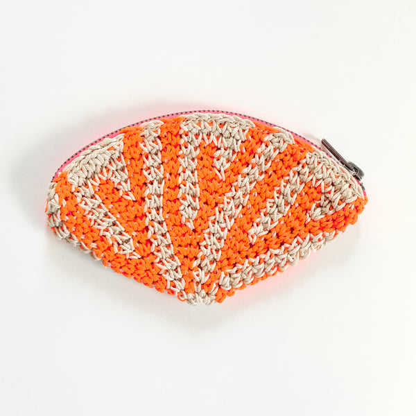 Crochet Hemp Coin Purse