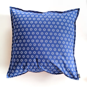 Blue Dot Shweshwe Cushion Cover