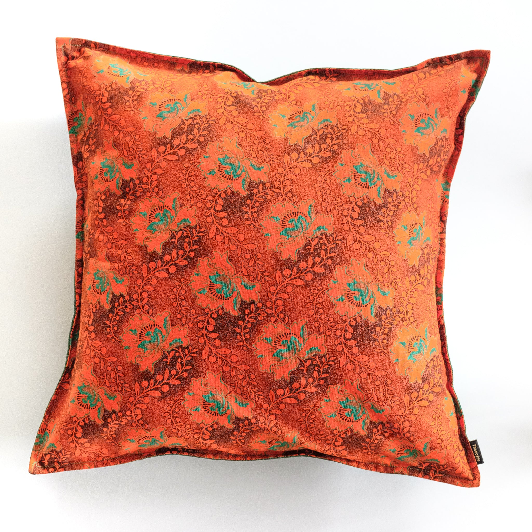 Durban Summer Shweshwe Cushion Cover