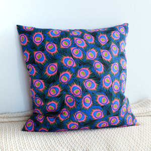 Fire Flower African Print Cushion Cover