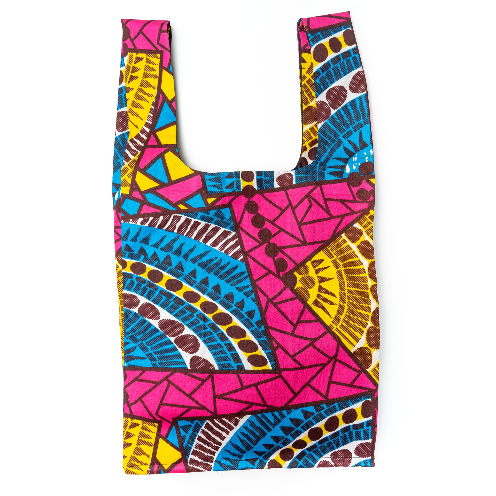 Pool Time African Wax Eco Shopping bag
