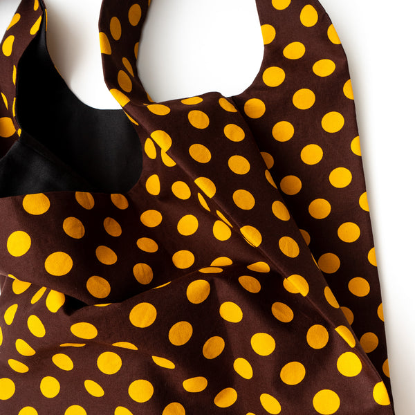 Polkadot Shweshwe Eco Shopping bag