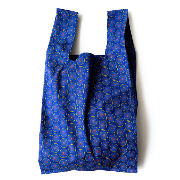 Fireworks Shweshwe Pocketable Shopping bag