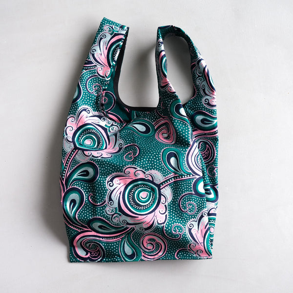 Floral Dutch Wax Eco Shopping bag