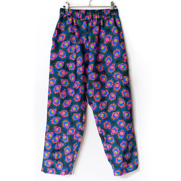 Fire Flower Tucked Pants