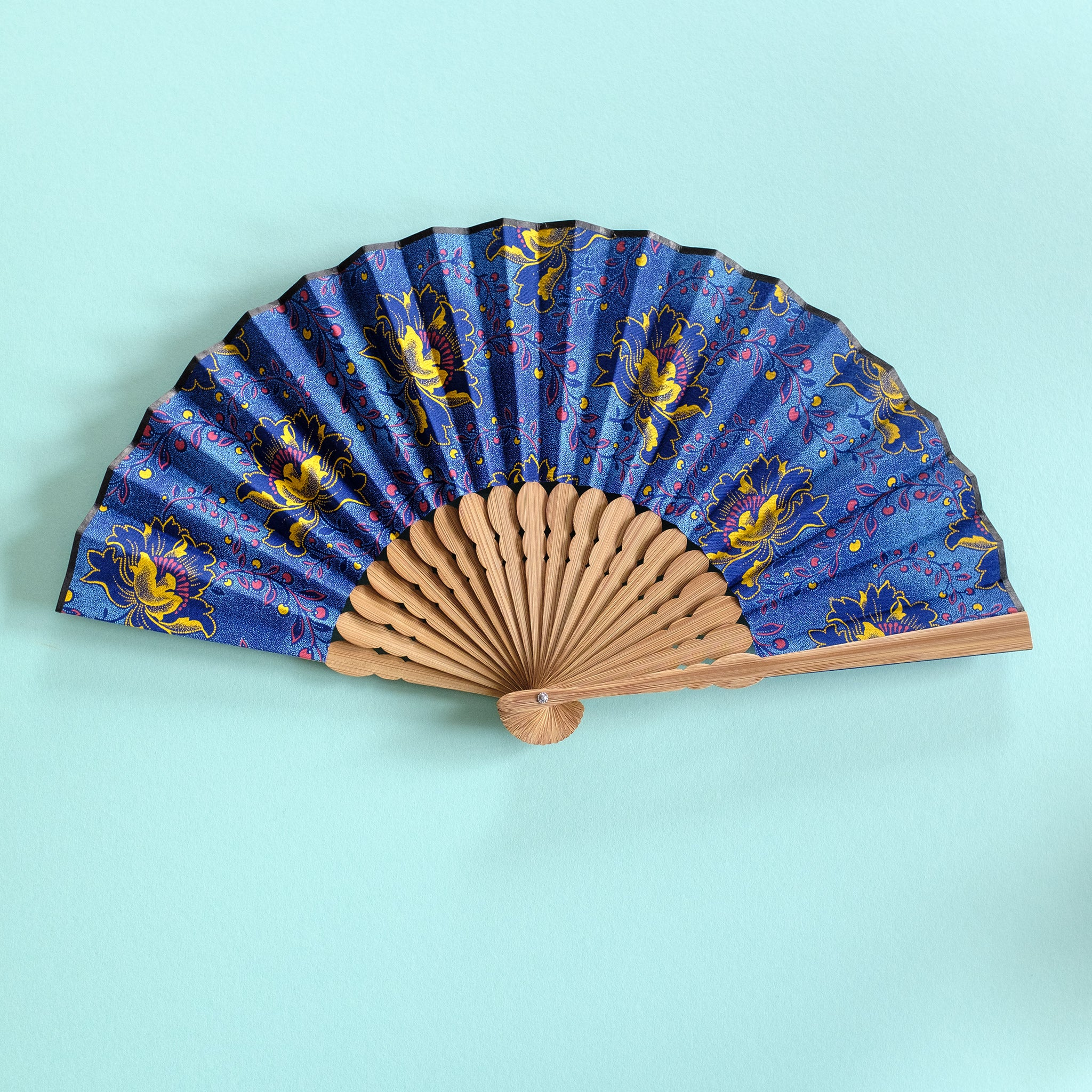 Four Seasons Shweshwe x Japanese Fan