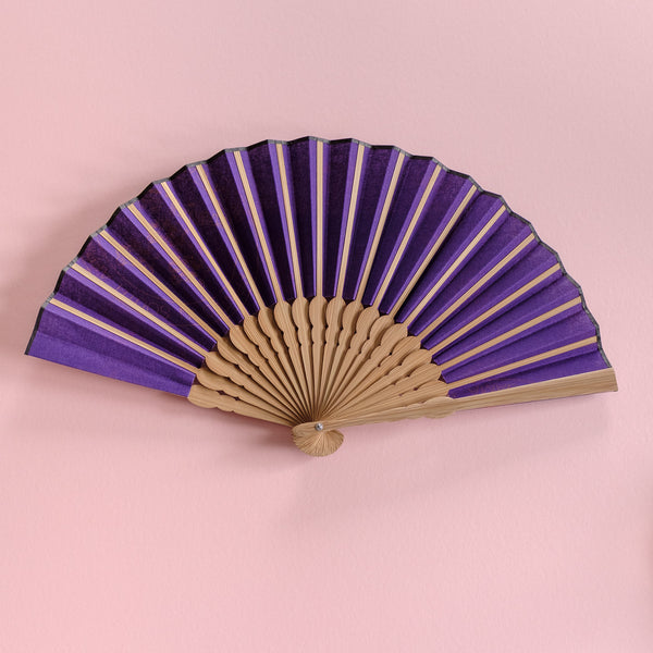 Feather Shweshwe x Japanese Fan