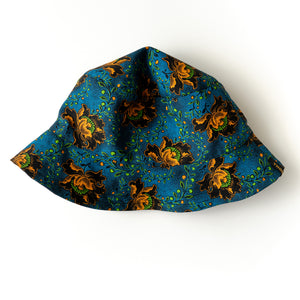 Night Flower Shweshwe Bucket Hat