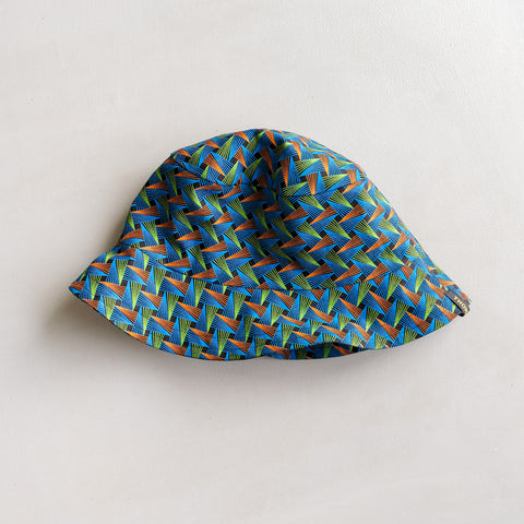 Geometric Shweshwe Bucket Hat