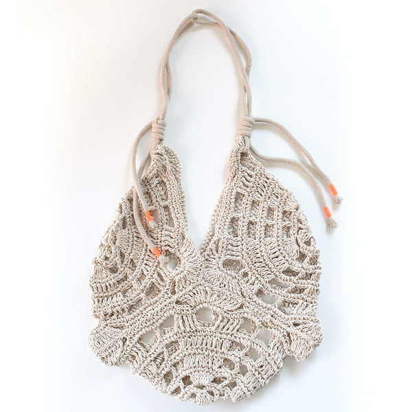 Crochet Hemp Bag