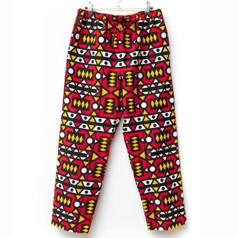 Semakaka Angola Wax Print Pajama Pants for Men