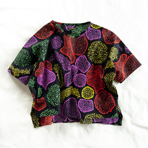 Midnight Biology African Wax Print T-shirts