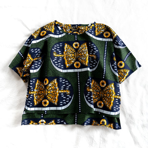 Umbrella African Wax Print T-shirts