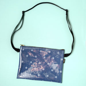 African shweshwe shoulder bag