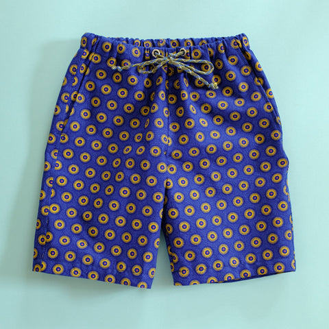 East Coast Shweshwe Shorts for Kids