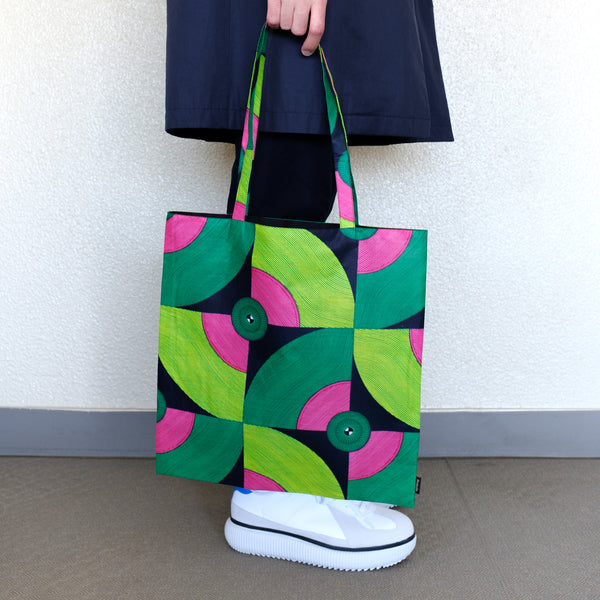 African Wax Print Tote アフリカンワックスプリントトートバッグ