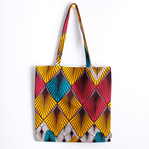 West Coast Wax Print Tote