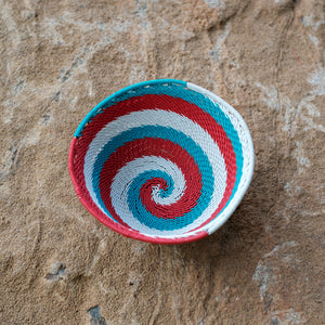 50's Africa Small Swirl Basket