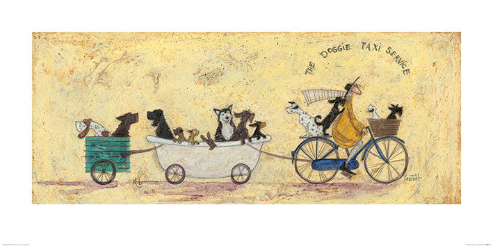 Sam Toft (The Doggie Taxi Service) 50x100