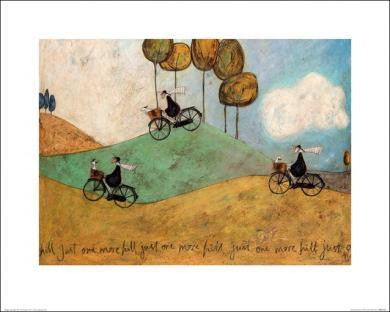 Sam Toft (Just One More Hill) 40x50