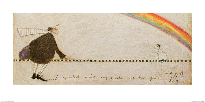 Sam Toft (I Would Wait My Whole Life For You) 50x100