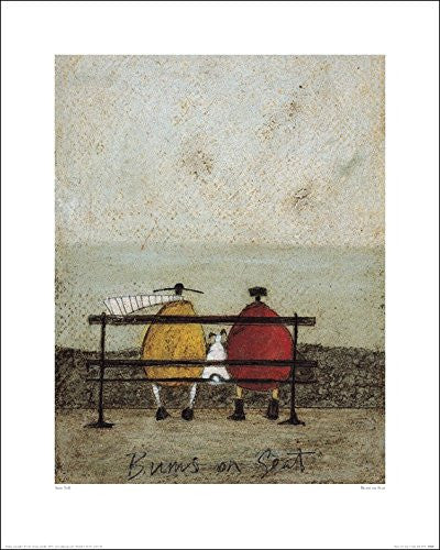 Sam Toft (Bums On Seat) 40x50