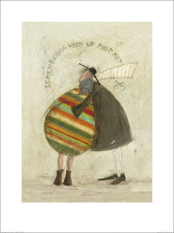 Sam Toft (Remembering When We First Met) 60x80