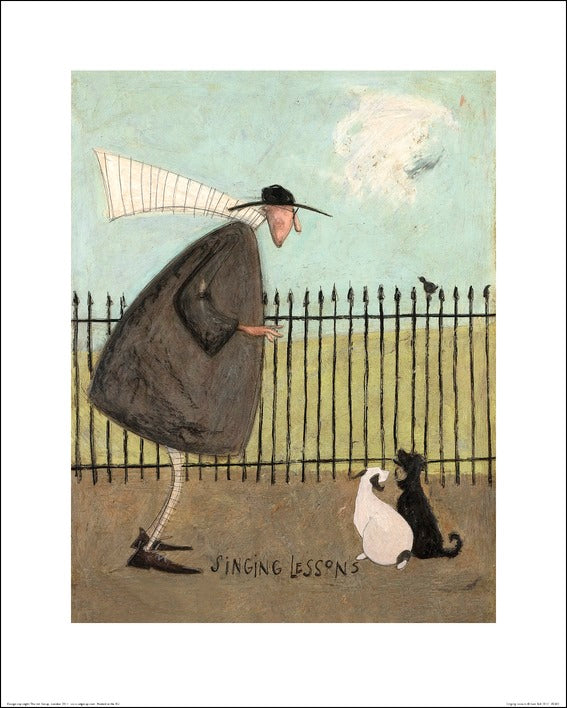 Sam Toft (Singing Lessons) 40x50
