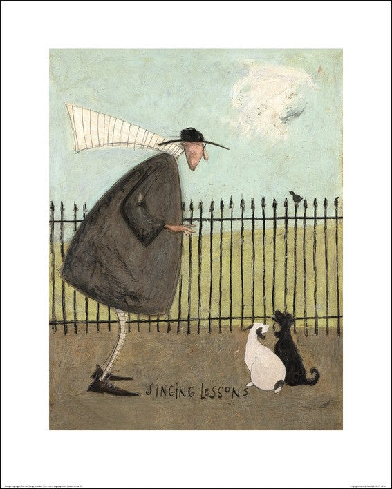 Sam Toft (Singing Lessons) 60x80