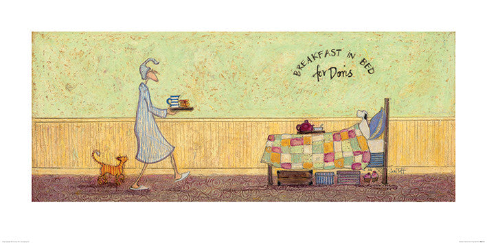 Sam Toft (Breakfast in Bed For Doris) 50x100