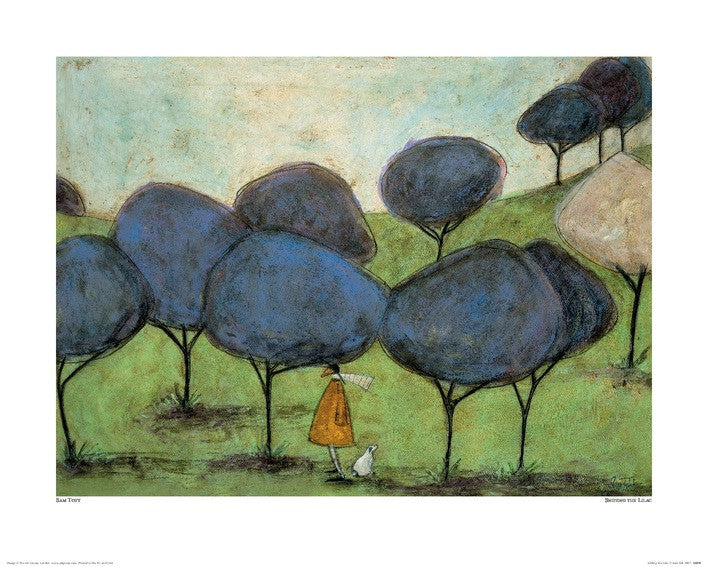 Sam Toft (Sniffing The Lilac) 40x50