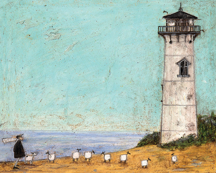 Sam Toft (Seven Sisters And A Lighthouse) 40x50