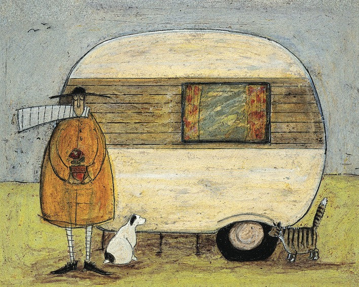 Sam Toft (Home From Home) 60x80