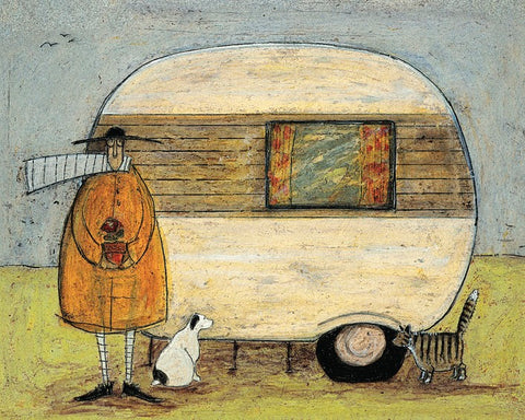 Sam Toft (Home From Home) 40x50