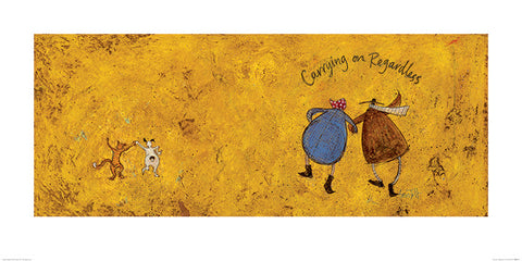 Sam Toft (Carrying on Regardless II) 50x100