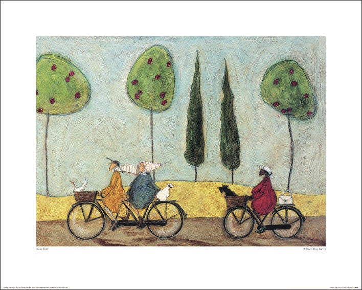 Sam Toft (A Nice Day For It) 40x50