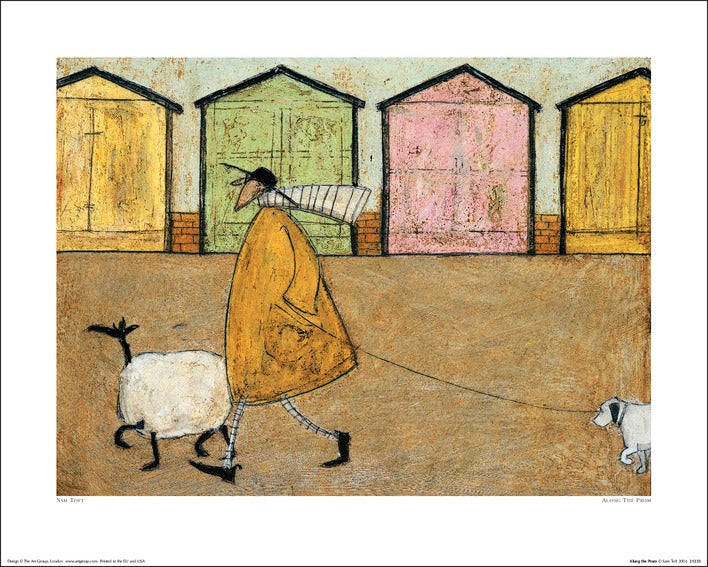 Sam Toft (Along The Prom) 40x50