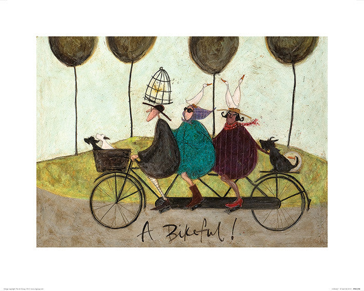 Sam Toft (A Bikeful!) 40x50