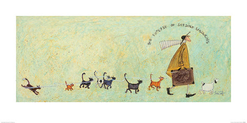 Sam Toft (The Suitcase of Sardine Sandwiches) 50x100