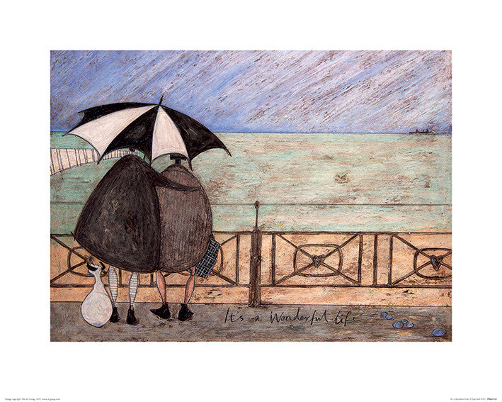 Sam Toft (It's a Wonderful Life) 40x50