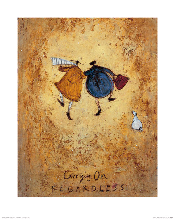 Sam Toft (Carrying on Regardless) 40x50