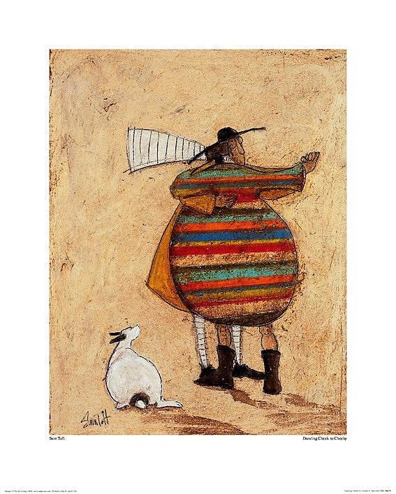 Sam Toft (Dancing Cheek To Cheeky) 40x50