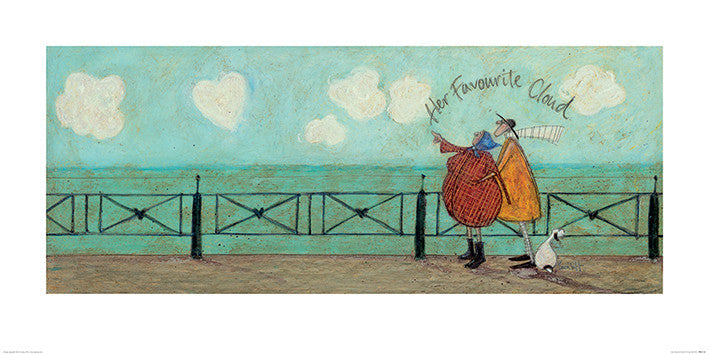 Sam Toft (Her Favourite Cloud) 50x100