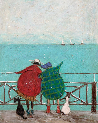 Sam Toft (We Saw Three Ships Come Sailing By) 40x50