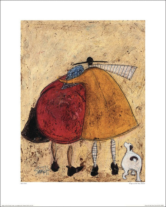 Sam Toft (Hugs On The Way Home) 40x50